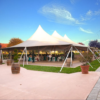 Guglielmo Winery Wedding Tent