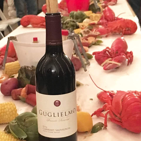 Guglielmo Wine Club Lobster Event
