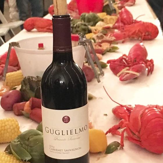 Guglielmo Wine Club Lobster Event