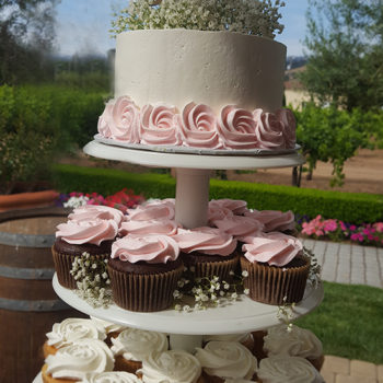Guglielmo Winery Wedding Cake