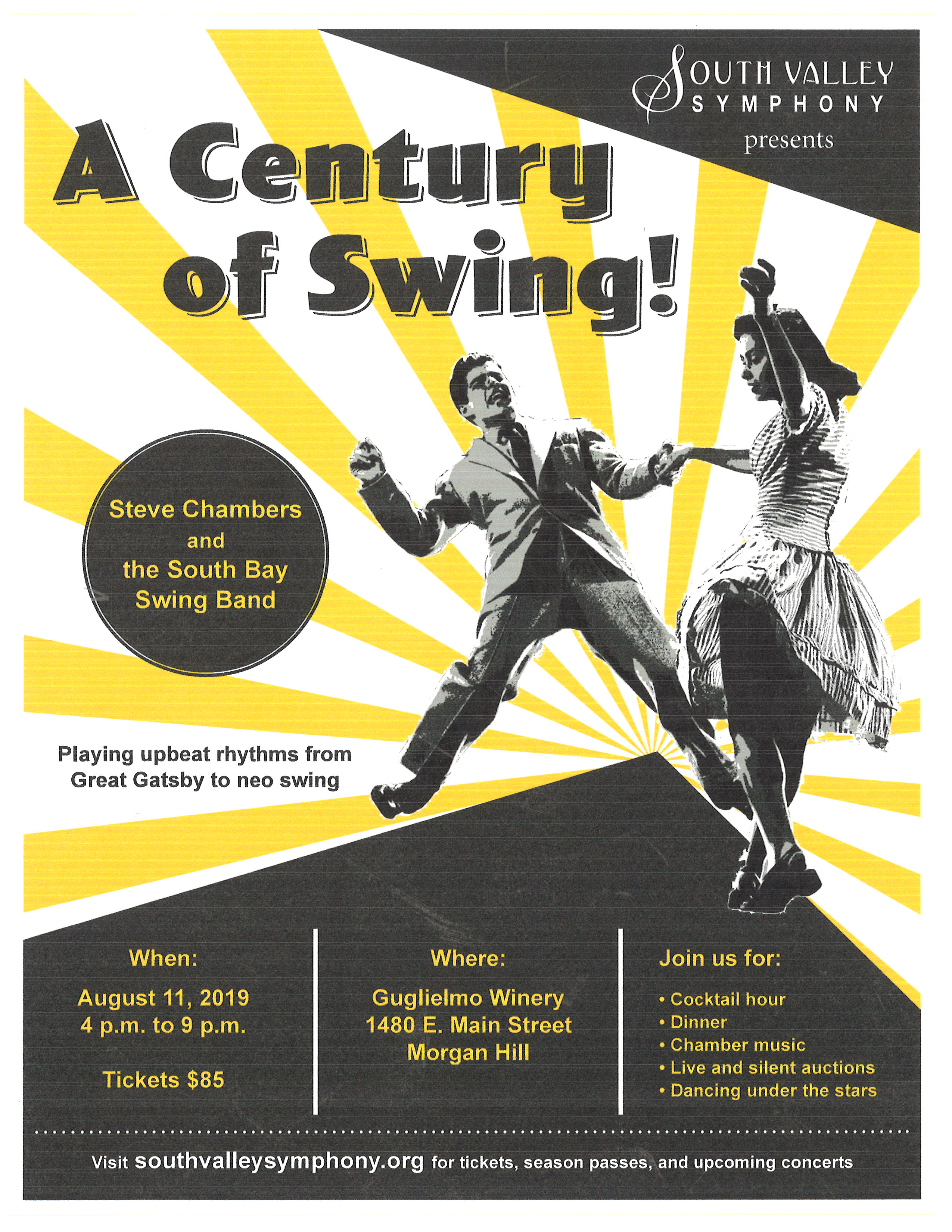 A Century of Swing Poster