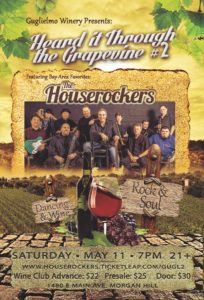 The Houserockers Event Poster