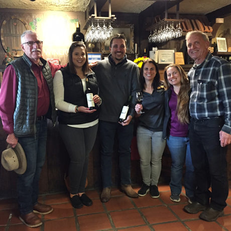 Guglielmo Winery Tasting Room Marriage Proposal