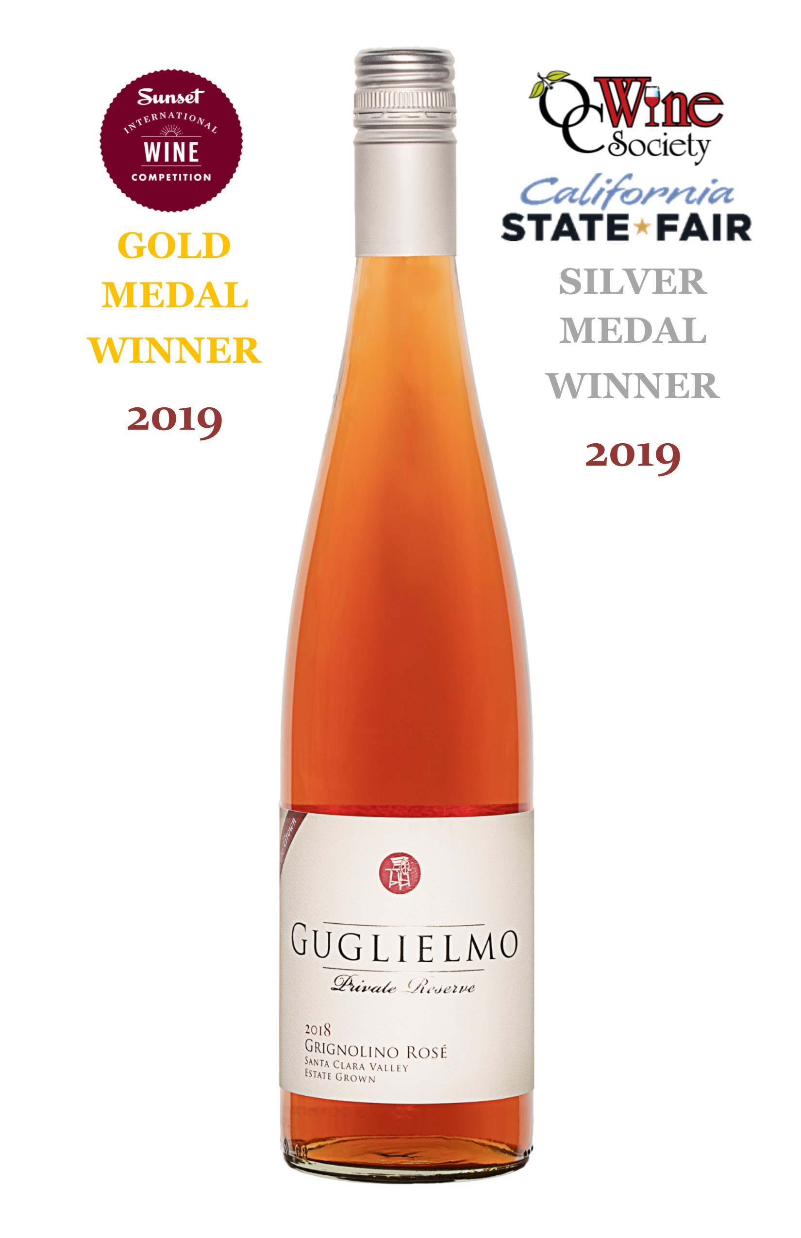 2018 Private Reserve Grignolino Rose